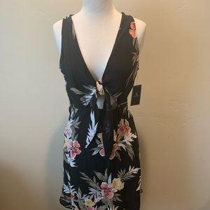 Volcom Wrap Skillz Floral Dress